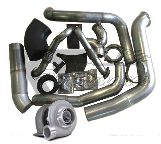 Irate Diesel S366 T4 Complete Turbo Kit, Ford (1994-03) 7 3L