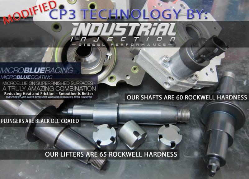 Industrial Injection CP3 Fuel Injection Pump, Dodge (2003-07