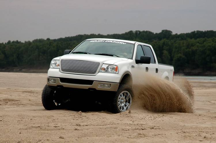 """Jeep Leveling Kit >> Rough Country Lift Kit, Ford (2004-08) F-150 4x4, 6"""""""