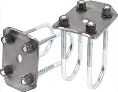U-Bolt Flip Kit (1979 To 1983 Toyota Front Axle, 1980 To