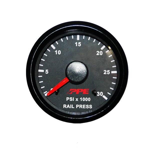 PPE Fuel Rail Pressure Gauge, Chevy/GMC (2006-10) 6 6L