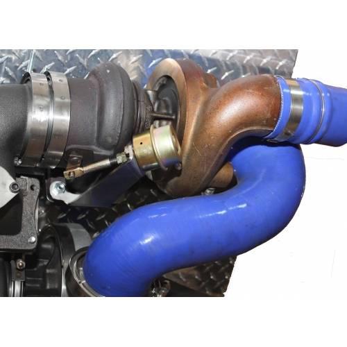 Pusher Cummins Compound Turbo: Diesel Power Source Twin Turbo Kit, Dodge (2003-07) 5.9L