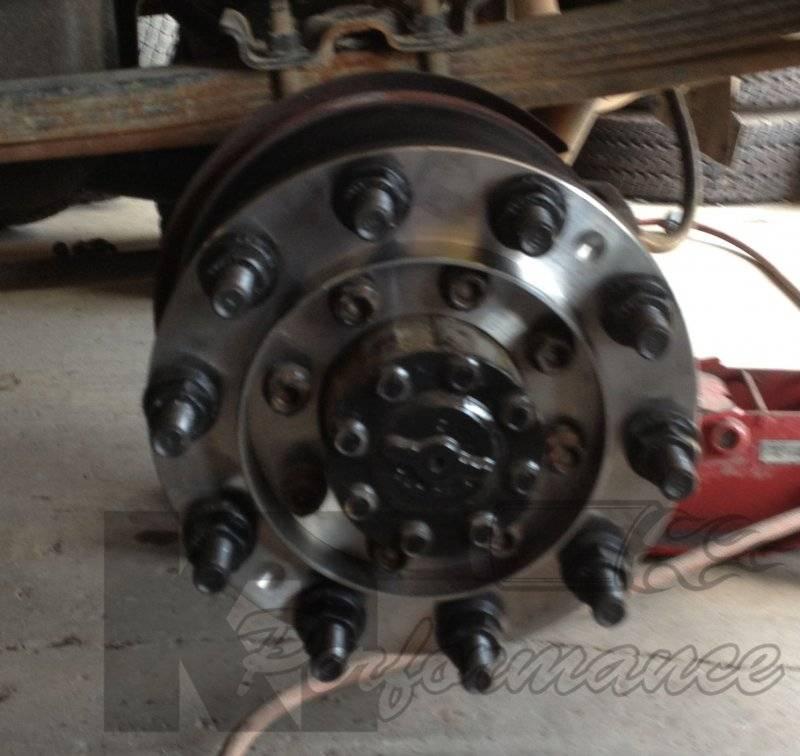 Diamond T 10 Lug Dually Wheel Adapters Chevy Gmc 1973 00