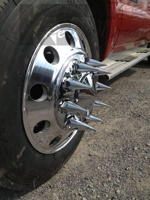 Fuel Dually Wheels >> Diamond T 10 Lug Dually Wheel Adapters, Ford (1999-04) F ...