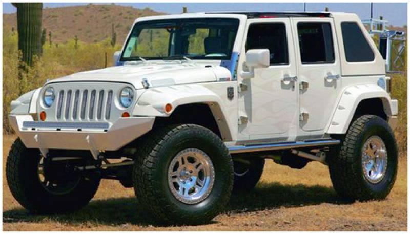 Jeep Wrangler Wheels >> Bushwacker Fender Flares,Jeep (2007-14) Wrangler Extended ...
