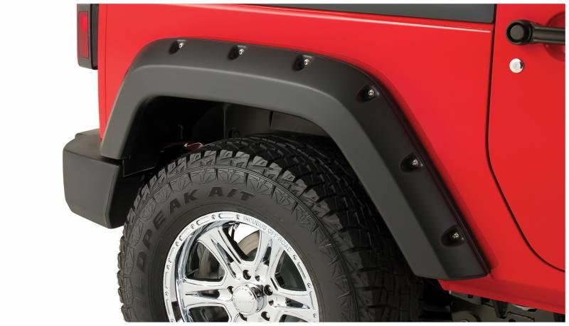 Jeep Wrangler Unlimited Interior >> Bushwacker Fender Flares,Jeep (2007-14) wrangler X ...