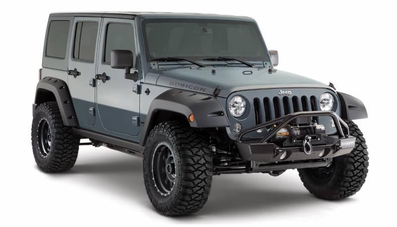 Bushwacker Fender Flares,Jeep (2007-14) wrangler X ...