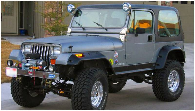 Bushwacker Fender Flares,Jeep (1987-95) Wrangler Set of 4 ...