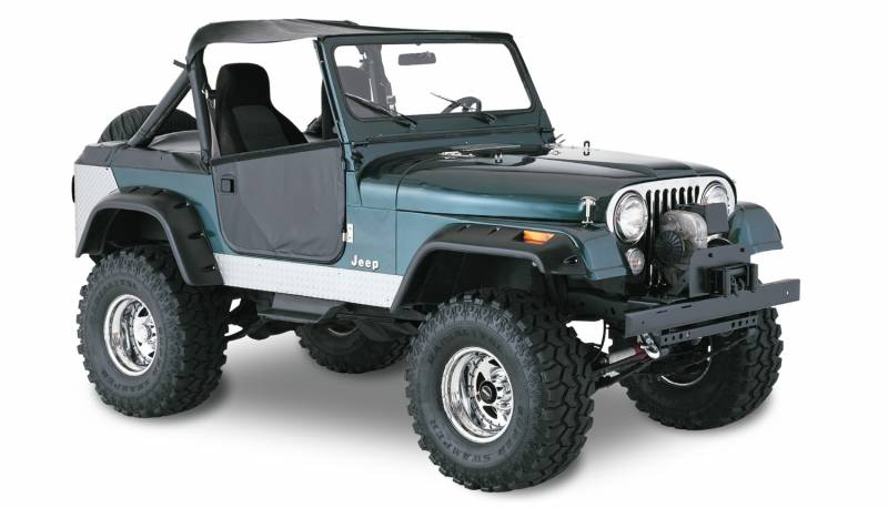 F on Jeep Cj Fender Flares