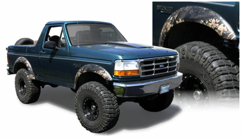 Bushwacker Fender Flares Ford 1992 1996 F 150 Bronco