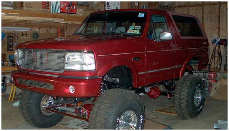 bushwacker fender flares ford  1992 bronco