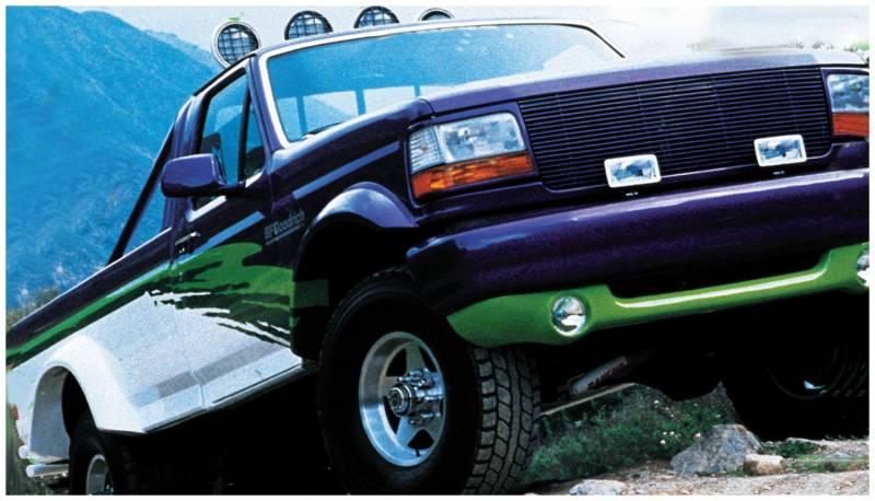 1992 Ford F250 >> Bushwacker Fender Flares,Ford (1992-96) F-150/Bronco (1992-97) F-250/F-350 Rear Pair(Cut-Out)