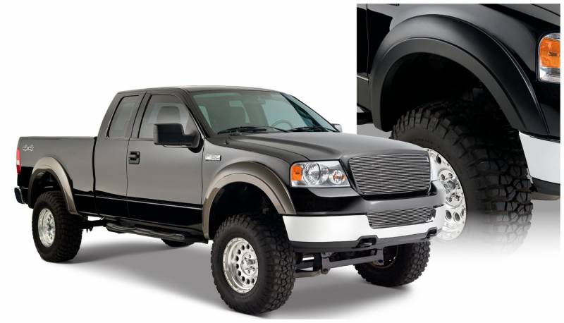 Ford F150 Truck Accessories >> Bushwacker Fender Flares,Ford / Lincoln (2004-08) F-150 (2006-08) Mark LT Set of 4(Extend-A ...