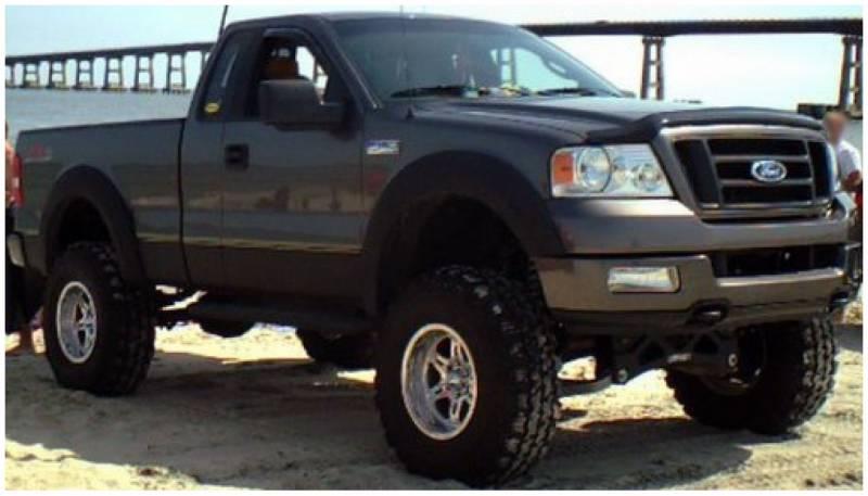 F150 Off Road >> Bushwacker Fender Flares,Ford / Lincoln (2004-08) F-150 (2006-08) Mark LT Set of 4(Extend-A ...