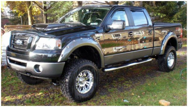 bushwacker fender flares ford lincoln 2004 08 f 150. Black Bedroom Furniture Sets. Home Design Ideas
