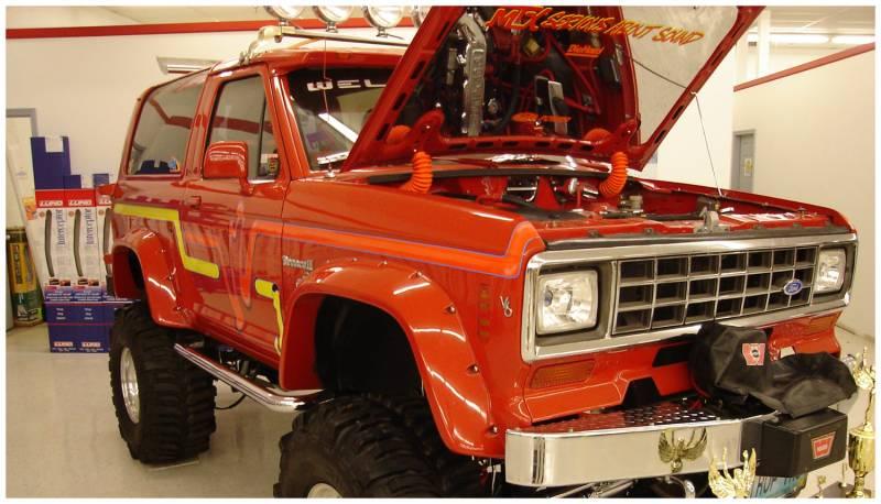 bushwacker fender flares ford 1984 90 bronco ii rear. Black Bedroom Furniture Sets. Home Design Ideas