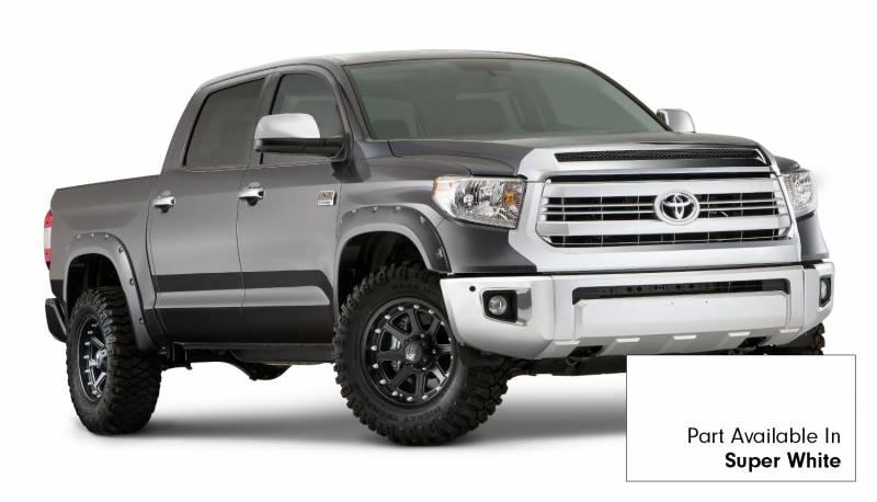 Toyota Tire Sale >> Bushwacker Fender Flares,Toyota (2014-15) Tundra Fender FlareSet of 4Super White(Pocket Style)