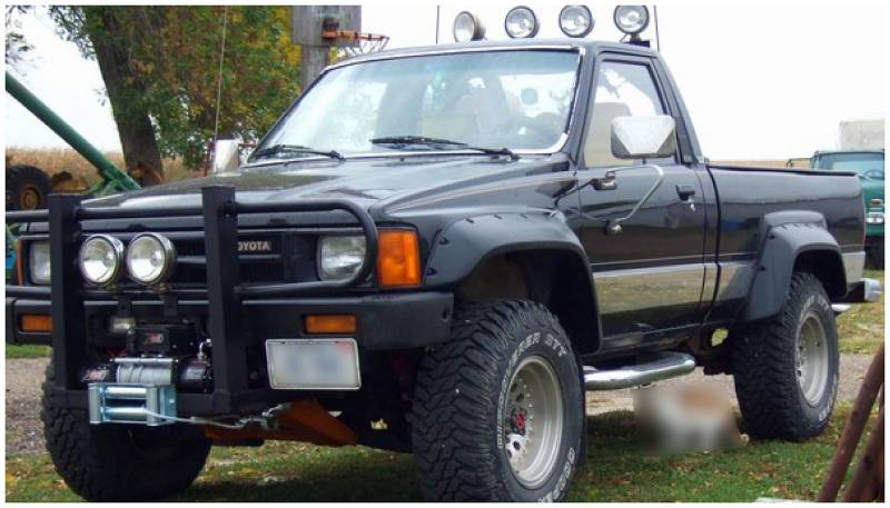 Toyota Pickup 4x4 >> Bushwacker Fender Flares,Toyota (1984-88) Pickup (1984-89) 4Runner Front Pair(Cut-Out)