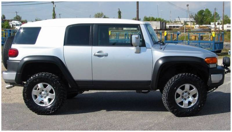 Fj Cruiser Off Road >> Bushwacker Fender Flares,Toyota (2007-14) FJ Cruiser Set