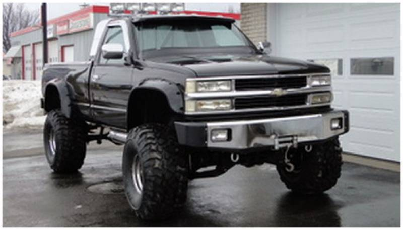 Bushwacker Fender Flares,Chevy/GMC (1988-99) 1500 (1988-00 ...