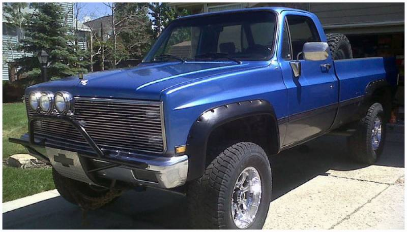 Bushwacker Fender Flares,Chevy/GMC (1981-91) 1500/2500 ...