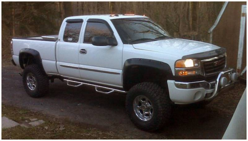 Chevy Silverado Fender Flares >> Bushwacker Fender Flares,Chevy/GMC (1999-07) 1500/2500 (2001-07) 3500 Front Pair(Cut-Out)