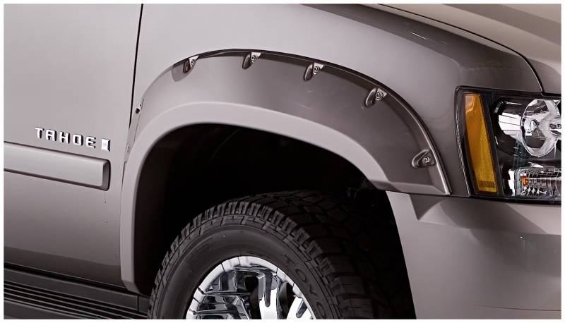bushwacker fender flares chevy 2007 13 avalanche tahoe. Black Bedroom Furniture Sets. Home Design Ideas