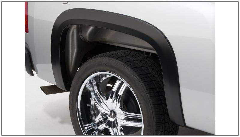 Bushwacker Fender Flares Chevy Gmc 2007 13 1500 2007 14 2500 3500 Rear Pair Only Street Flare