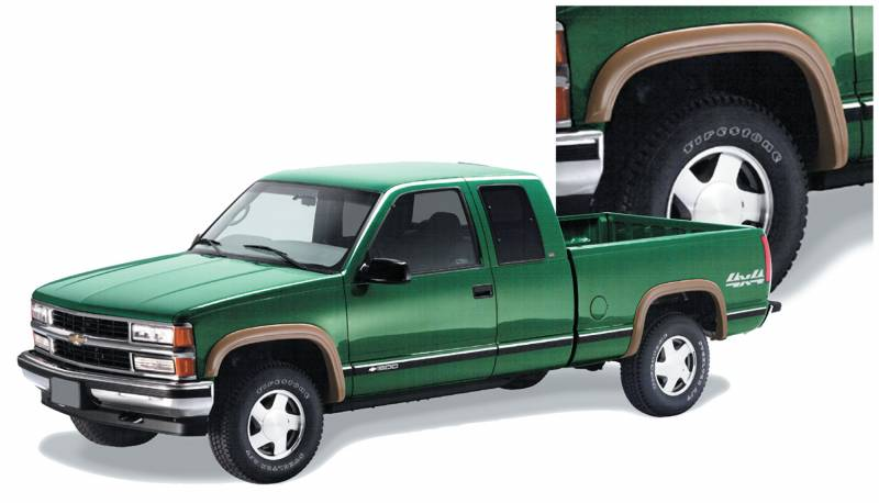 Bushwacker Fender Flares, Chevy/GMC (1988-99) 1500 (1988 ...