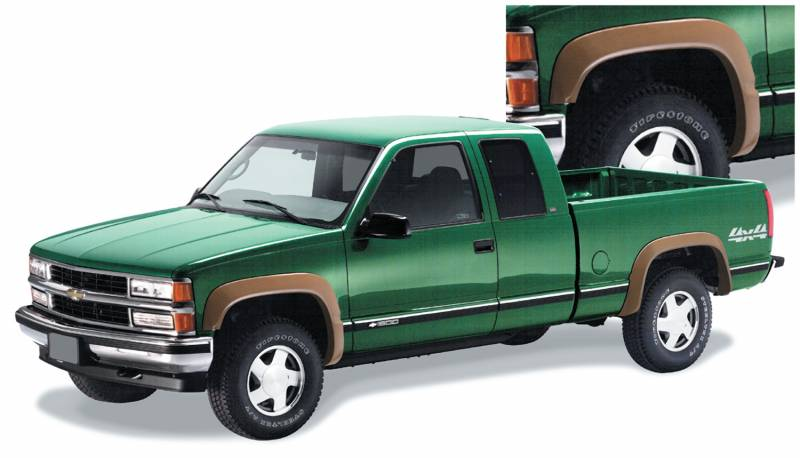 bushwacker fender flares chevy gmc 1988 99 1500 1988. Black Bedroom Furniture Sets. Home Design Ideas