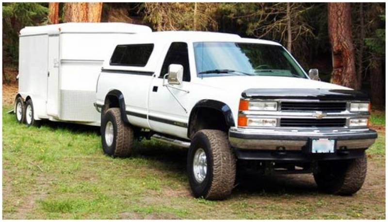 Bushwacker Fender Flares,Chevy / GMC (1988-99) 1500 (1988 ...