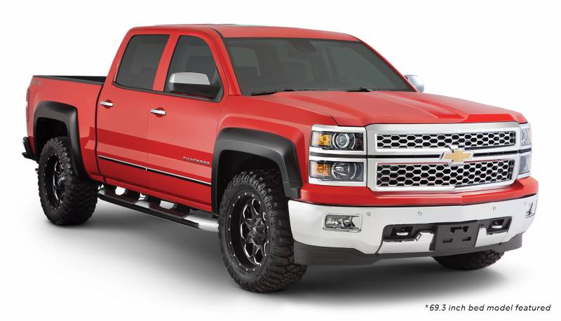 Bushwacker Fender Flares Chevy 2014 15 1500 2015 2500
