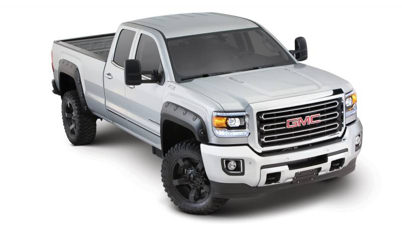 Bushwacker Fender Flares Gmc Boss 2015 2500 3500 Fender