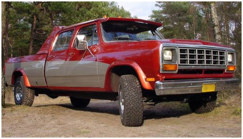 F on 1985 Dodge Ram 3500