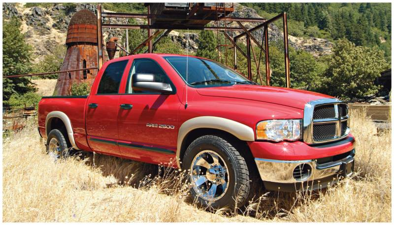 Bushwacker fender flares dodge 2002 05 1500 2003 05 25003500 list price 58999 sciox Images