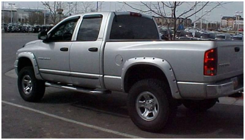 2002 Dodge Ram 1500 Accessories >> Bushwacker Fender Flares,Dodge (2002-08) 1500 (2003-09) 2500/3500 Fender Flare Set of 4 (Pocket ...