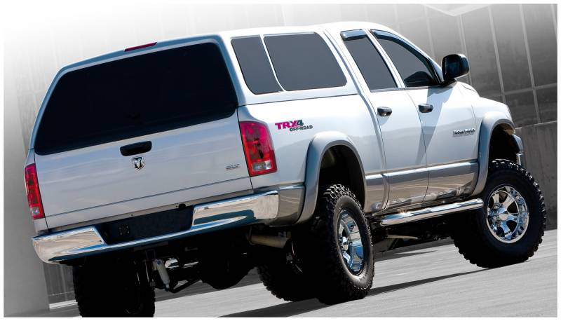 Bushwacker Fender Flares,Dodge (2006-08) 1500 (2006-09) 2500/3500 Set of 4(Extend-A-Fender Flare)