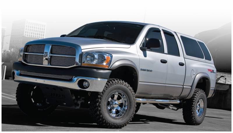 F on Dodge Ram 2500 Bushwacker