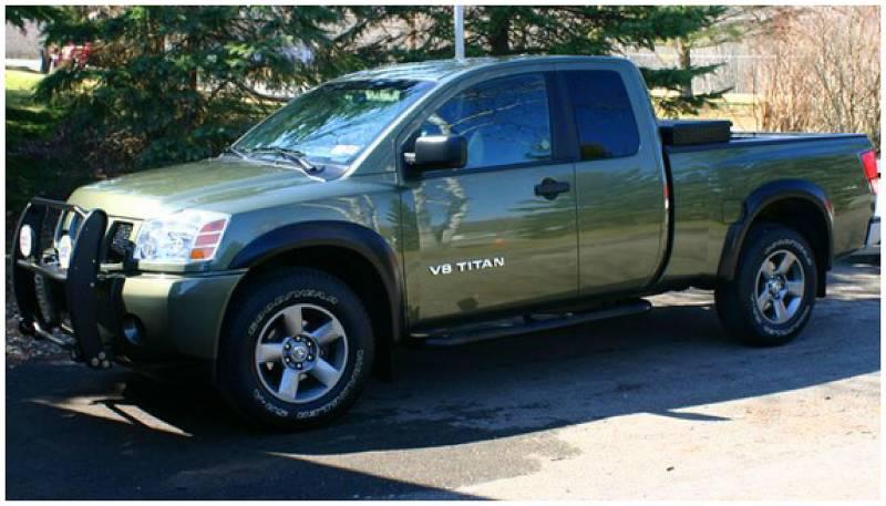 Fuel Truck Wheels >> Bushwacker Fender Flares,Nissan (2004-14) Titan Set of 4