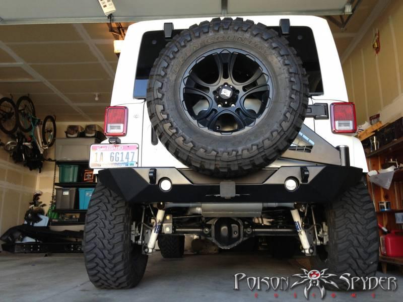 Poison Spyder Rockbrawler Ii Rear Bumper Jeep 2007 15