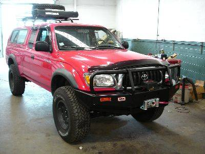 Arb Deluxe Bull Bar Winch Mount Bumper Toyota 1995 04