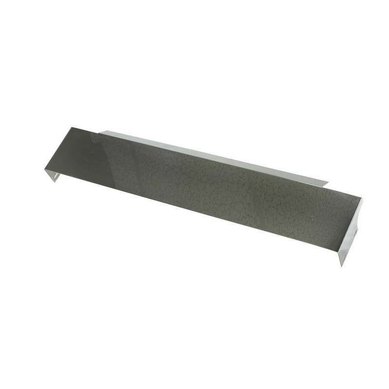 Front Frame Cover, Stainless Steel; 87-95 Jeep Wrangler YJ