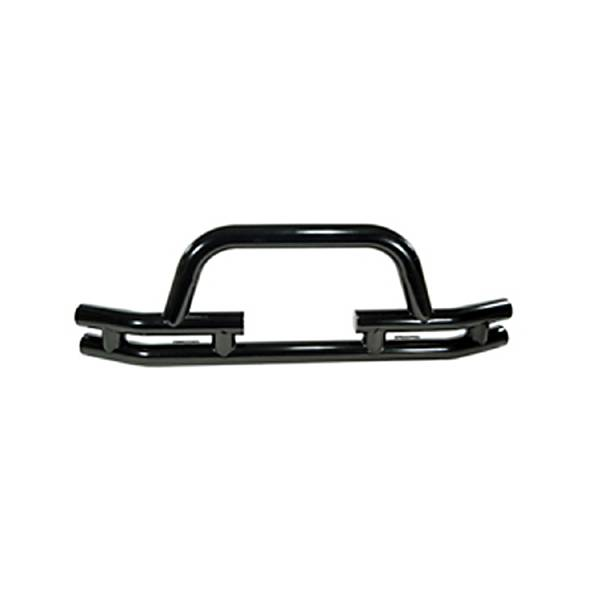 rugged ridge double tube front winch bumper  3 inch  1976 wrangler yj  tj