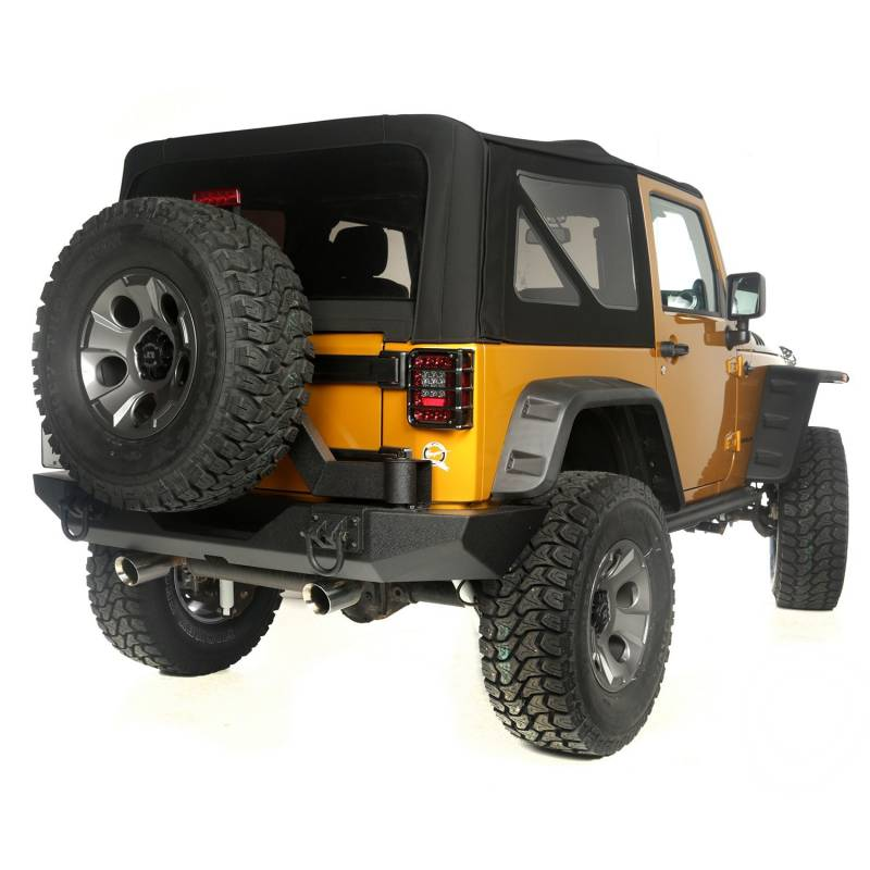 rugged ridge 2 5 inch lift kit with shocks 2007 15 jeep wrangler jk. Black Bedroom Furniture Sets. Home Design Ideas