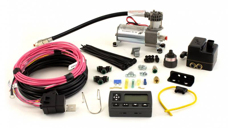 Air Lift On Board Air Compressor Kit Wireless Dual Path