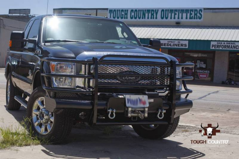Tough Country Standard Traditional Front with Winch Mount, Ford (2011-15) F-250 & F-350 Super Duty