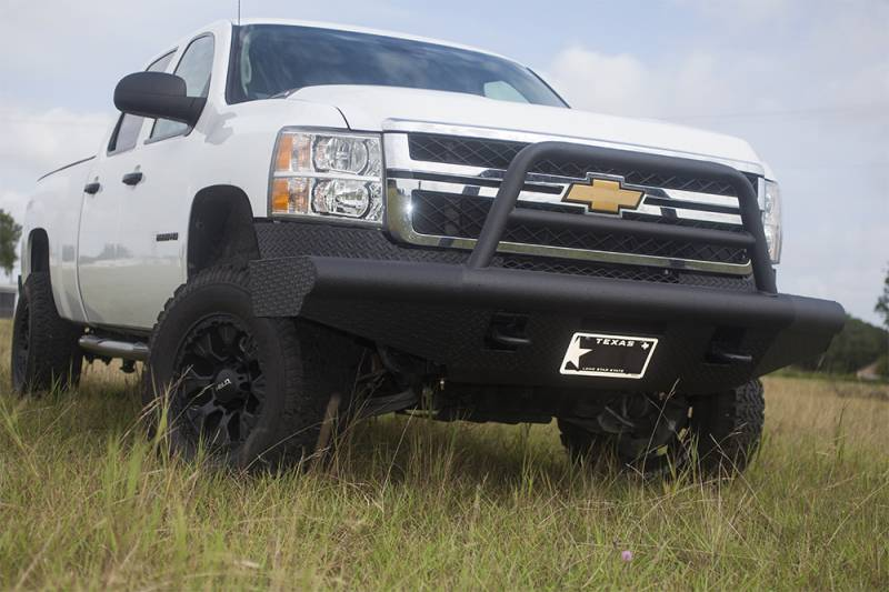 tough country custom apache front bumper  chevy  2007 5