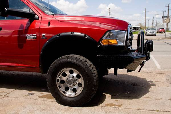 Aftermarket Truck Bumpers >> Tough Country Custom Apache Front Bumper, Dodge (2010-17) 2500 & 3500