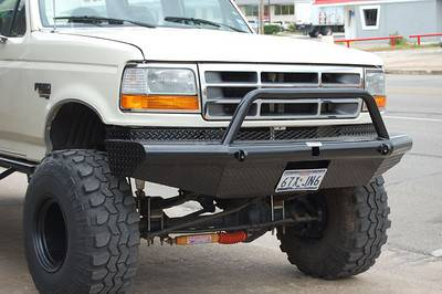 Tough Country Custom Apache Front Bumper Ford 1992 97 F