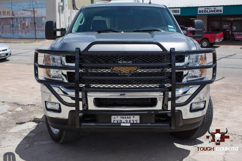 2014 Chevy Silverado Lifted >> Tough Country Custom Brush Guard, Chevy (2014-15) 1500 Silverado